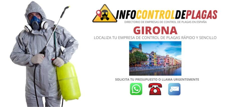Empresas de control de plagas en Girona