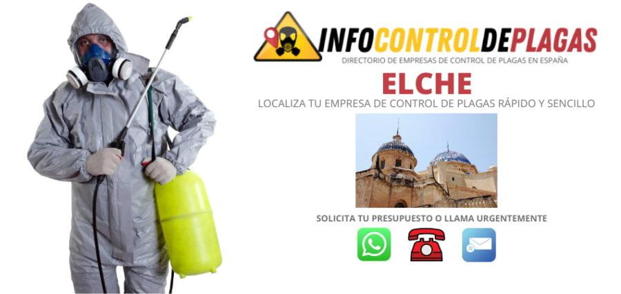 EMPRESAS DE CONTROL DE PLAGAS EN ELCHE