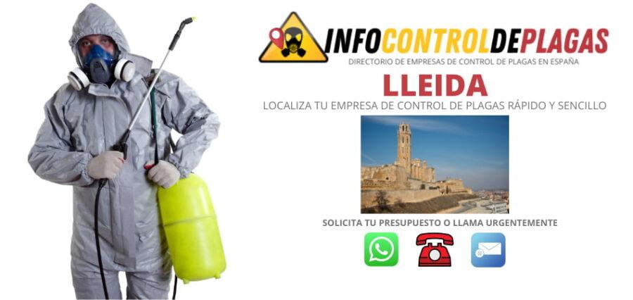 EMPRESAS DE CONTROL DE PLAGAS EN LLEIDA