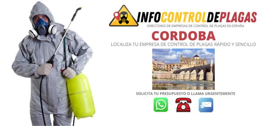 Empresas de control de plagas en Córdoba