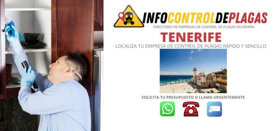 precios de control de plagas en Tenerife